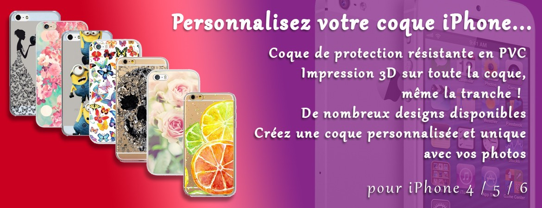 Coque iPhone personalisée