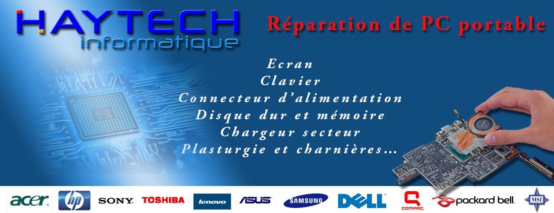 Réparation PC portable